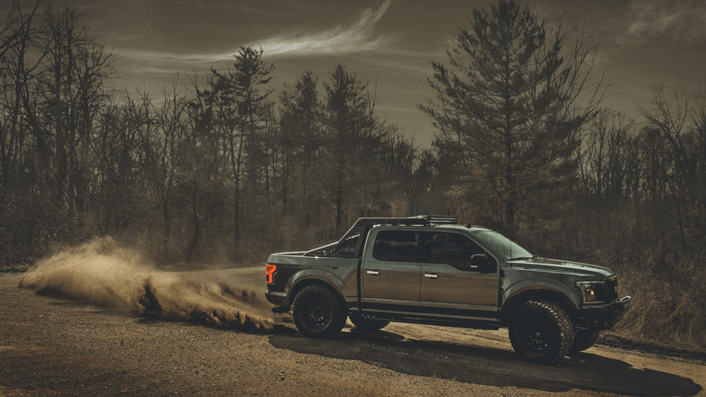 Mil-Spec Automotive's enhanced version of the 2020 Ford F-150.