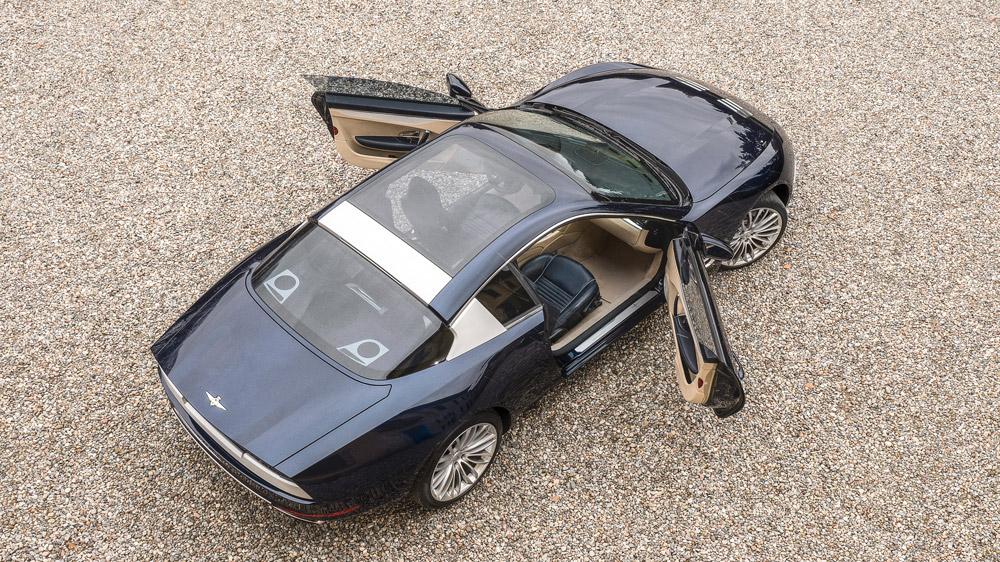Touring Superleggera's Sciàdipersia coupe.