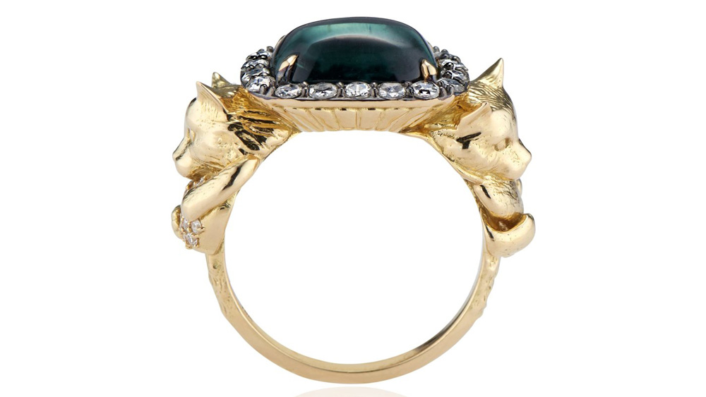 Larkspur & Hawk Bespoke Animal Ring