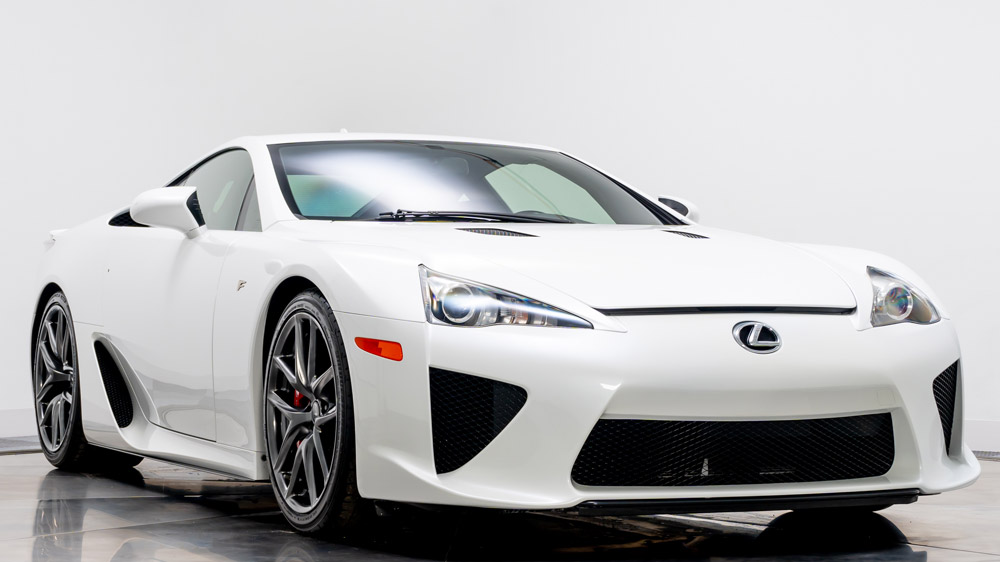 Now for sale through Marshall Goldman, this Lexus LFA was once owned by Paris Hilton.