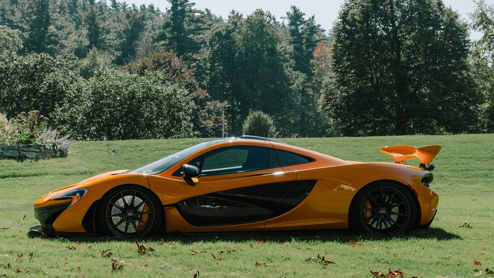 The McLaren P1.