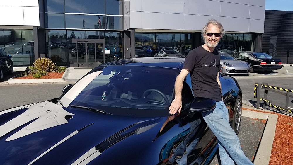 Don Louv took his all-electric Porsche Taycan on an 11,000-mile road trip.