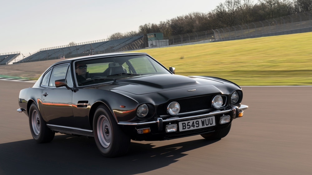 The Aston Martin V8 Vantage from the late 1970s.