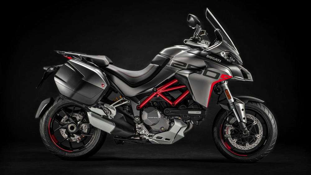 The Ducati Multistrada 1260 S Grand Tour motorcycle.