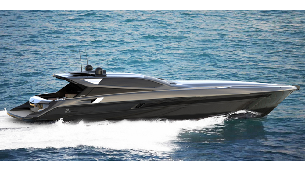 Otam Builds a 70-ft., 50-knot Cruiser