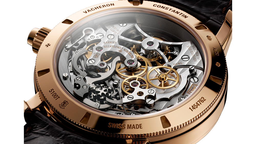 Vacheron Constantin Tourbillon Traditionelle Chronograph Caseback