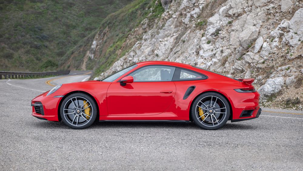 The 2021 Porsche 911 Turbo S.