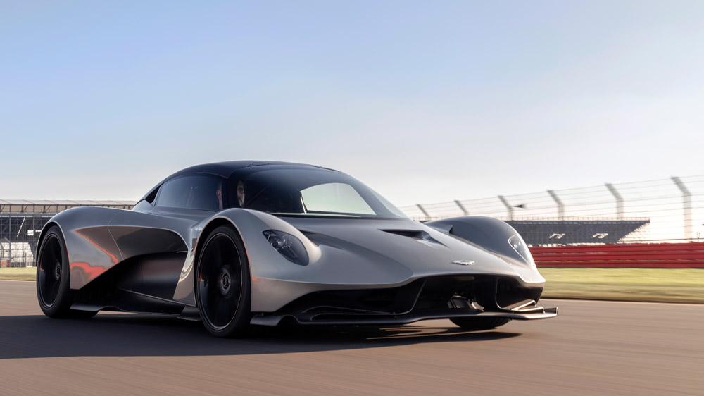 Aston Martin's Valhalla hypercar.