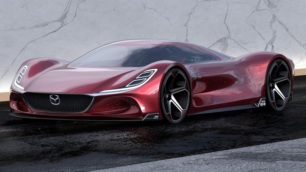Mazda RX-10 Vision Longtail Concept Supercar