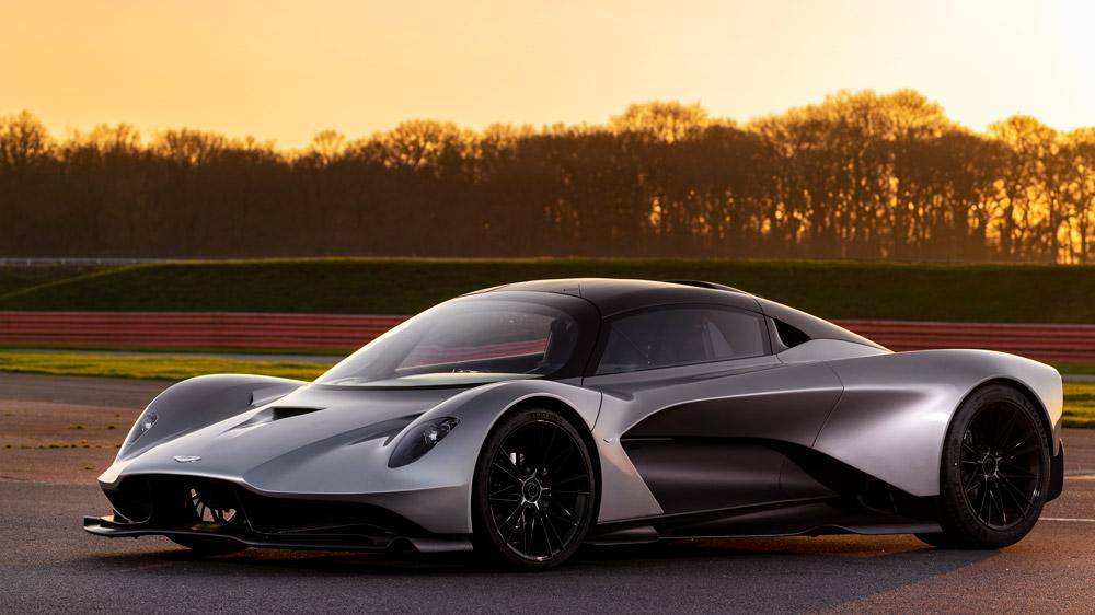 The Aston Martin Valhalla.