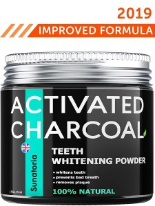 Sunatoria Activated Charcoal Teeth Whitening Powder