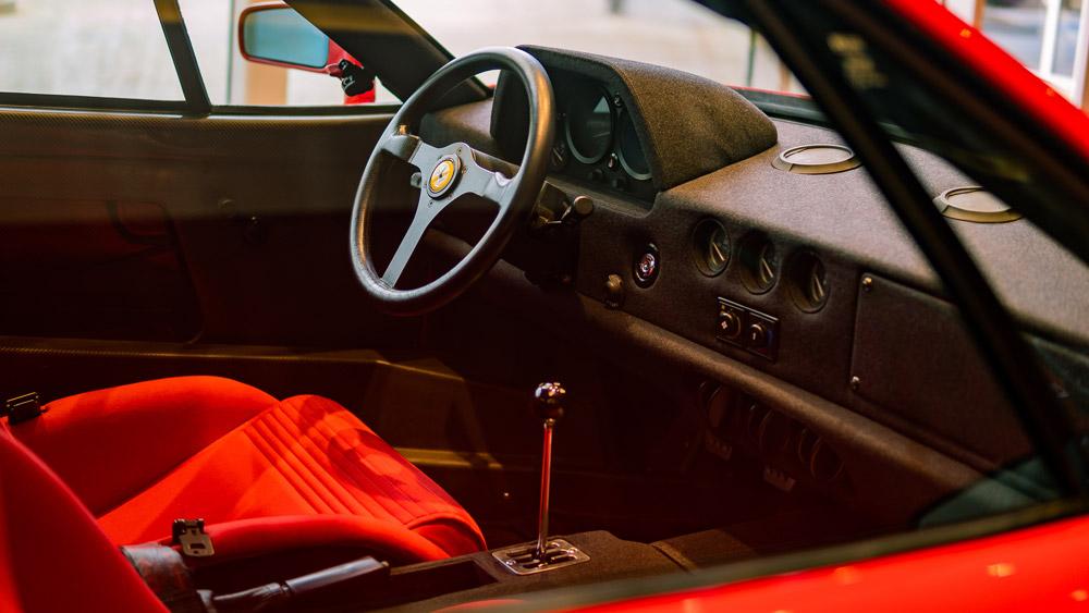 The Ferrari F40.