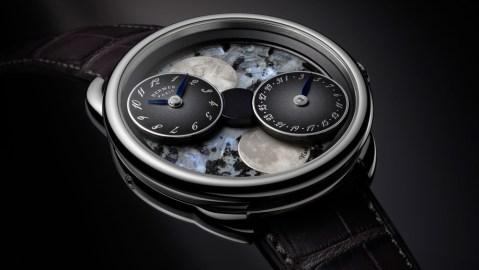 Hermès Arceau de la Lune Blue Pearl