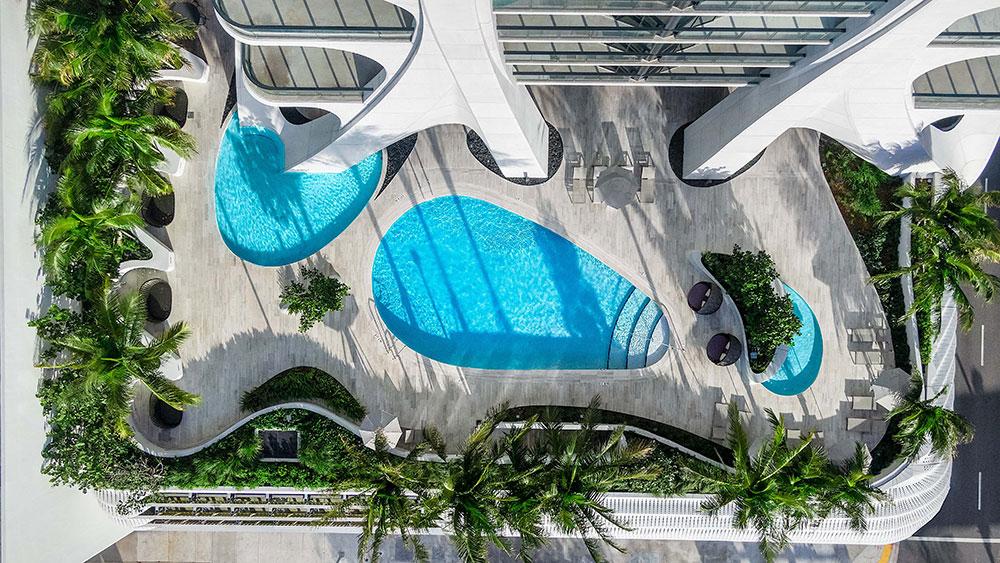 David Beckham căn hộ áp mái ở Miami