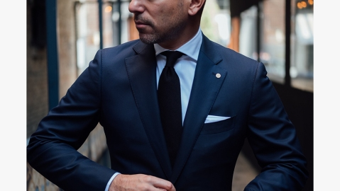 A BLVDier suit