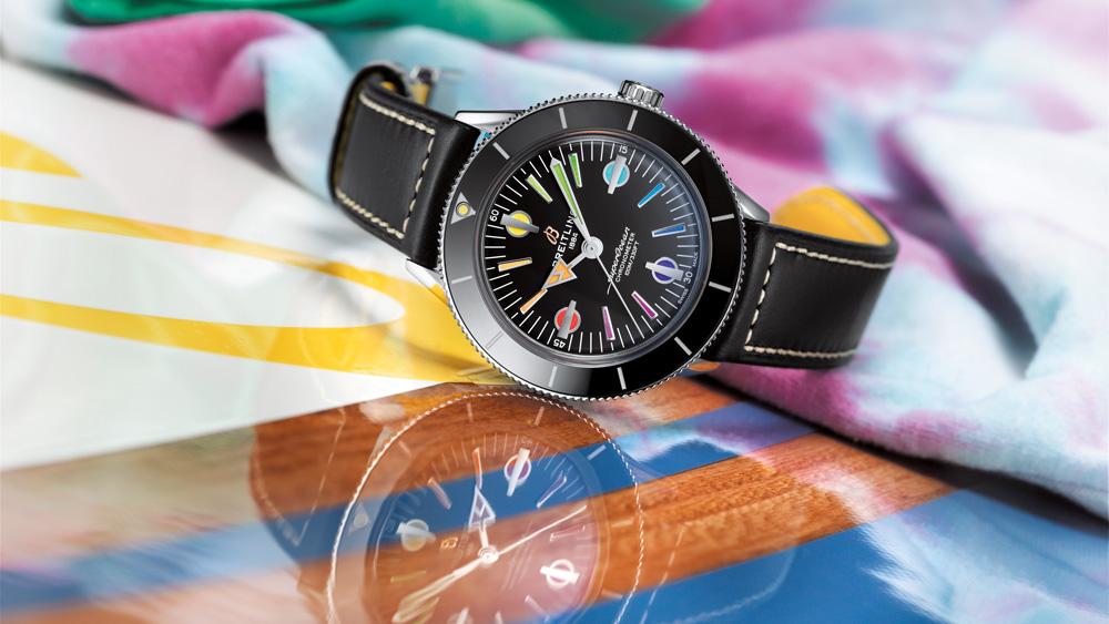 Breitling Superocean Heritage 57 Rainbow
