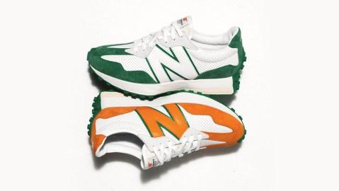 New Balance x Casablanca's 327 sneaker