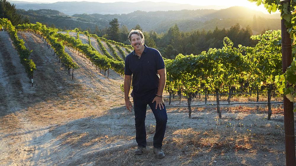 Lokoya's winemaker Christopher Carpenter
