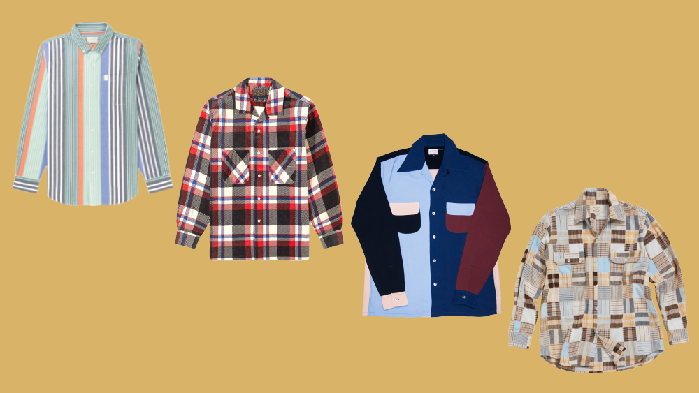 Fun shirts by Aimé Leon Dore, Beams Plus, Bryceland's and Holiday Boileau
