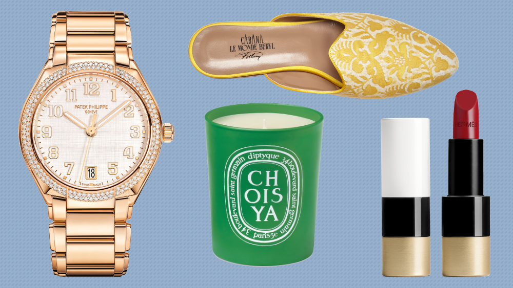Mother's Day, Robb Report, Patek Philippe, Hermes, Diptyque