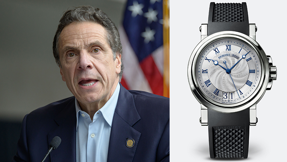 Andrew Cuomo and his Breguet Marin 5718