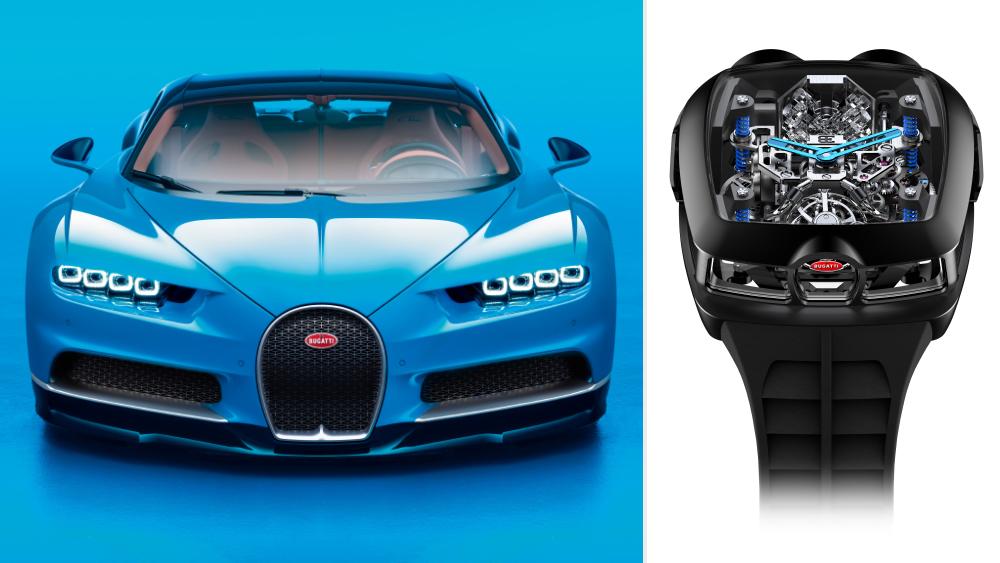 Bugatti Chiron; Jacob & Co. Bugatti Chiron Tourbillon