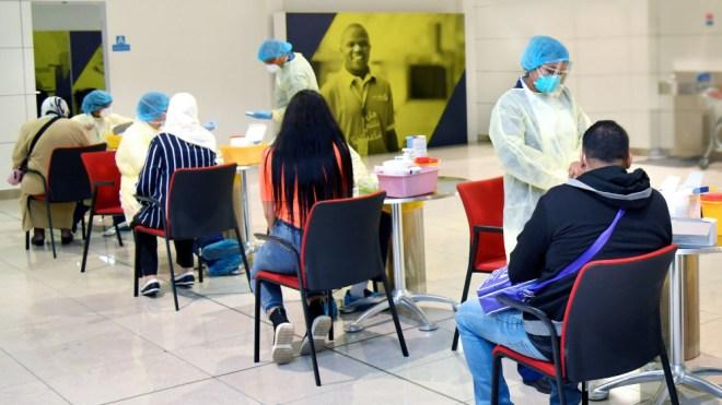 Emirates tests for coronavirus