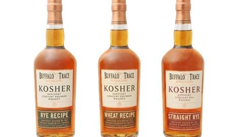 Buffalo Trace's new kosher whiskeys.