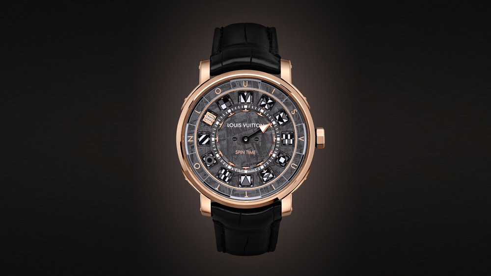 Louis Vuitton Escale Spin Time Meteorite