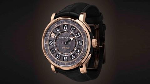 Louis Vuitton Escale Spin Time Meteorite