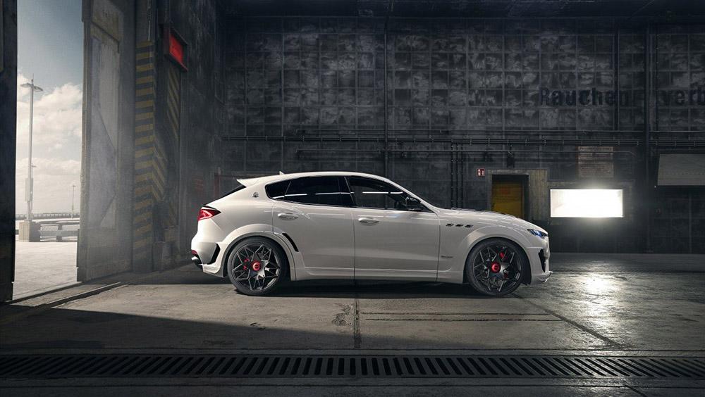 Novitec's Maserati Levante Esteto V2