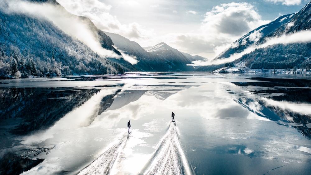 Radinn Jetboards on Norway Fjord