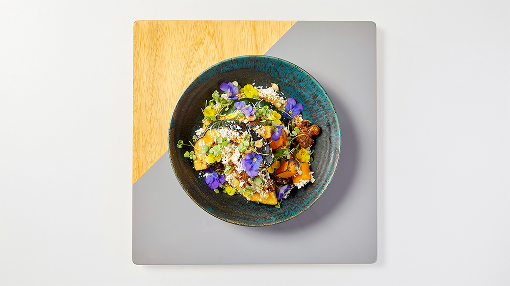The flowers dish at Terzo Piano