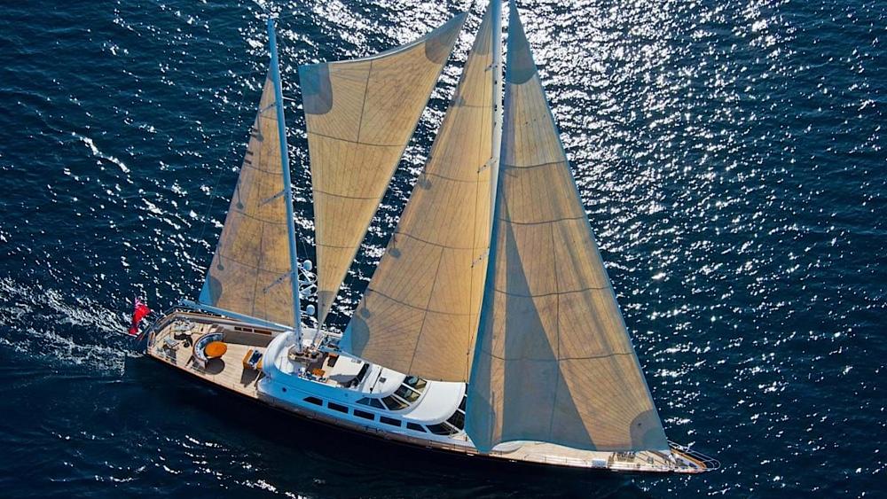 Berlusconi Yacht Morning Glory Listed