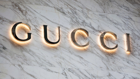 New York, New York, USA - October 10, 2019: Luxury clothing and accessories retailer Gucci on Fifth Avenue in Manhattan.; Shutterstock ID 1530588680; Notes: RR Digital