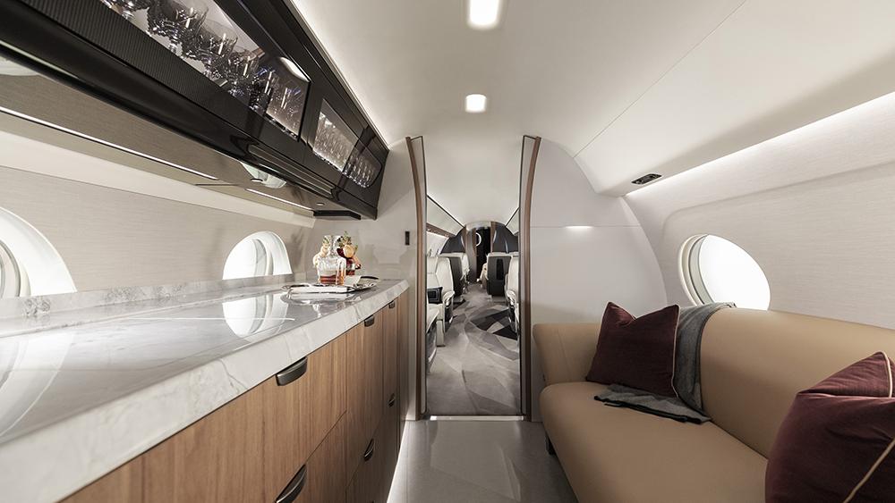 Gulfstream G700 Galley