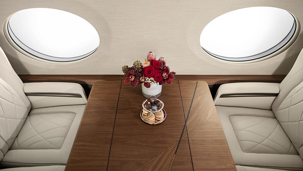 Gulfstream G700 Dining Table