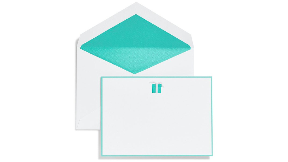 Tiffany & Co. stationary