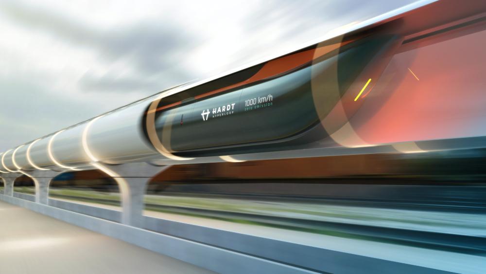 Hardt Hyperloop train