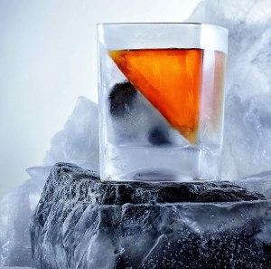 Ice Cubist Whiskey Wedge Mold