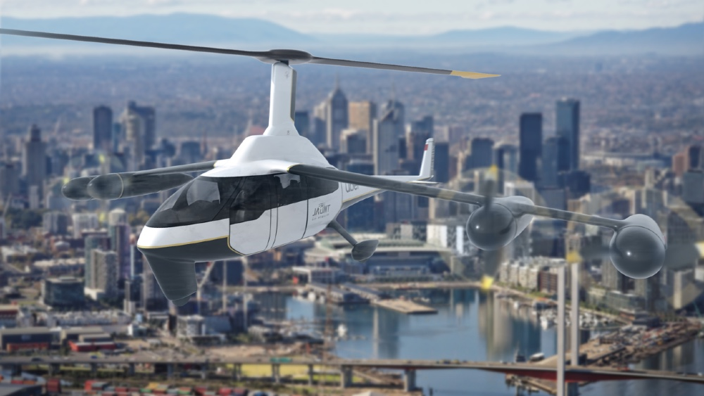 The Jaunt Journey Is a Combination Helicopter and Airplane