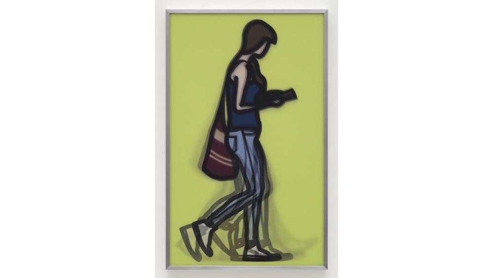 Julian Opie, Waitress, from 'Walking in London