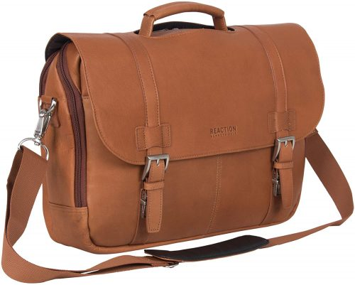 Kenneth Cole Reaction Leather Laptop Travel Bag