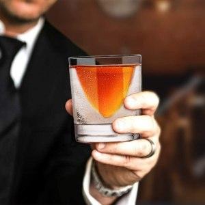 Kollea Whiskey Glass and Wedge