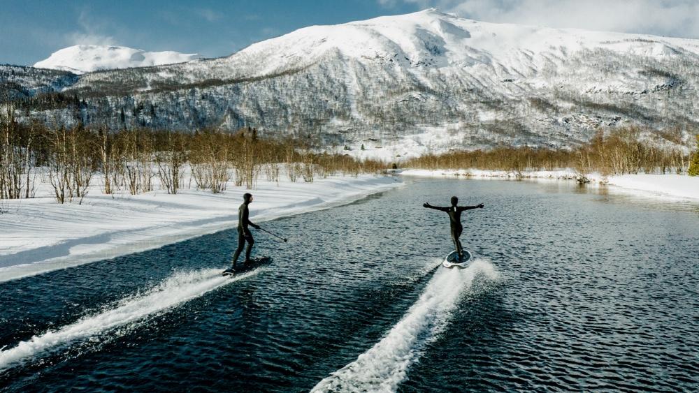 Radinn Jetboards in Norwegian Fjords
