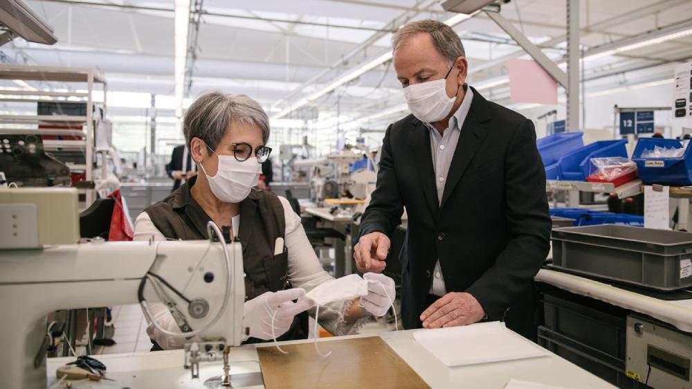 Louis Vuitton medical gowns coronavirus