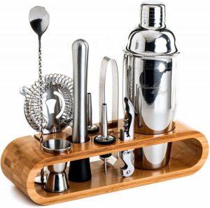 Mixology 10-Piece Barware Set