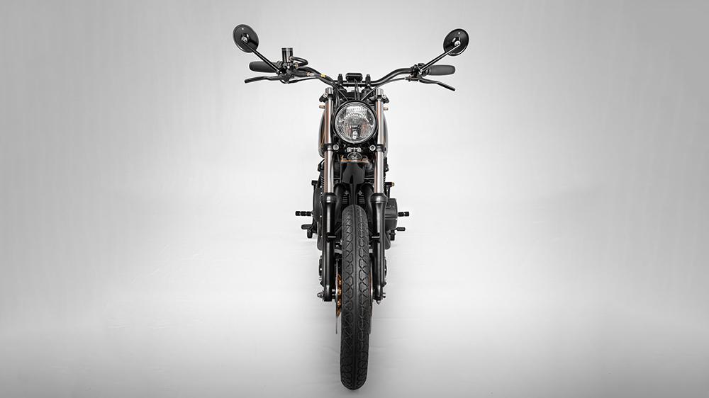 Panache Custom Motorcycle Smaug