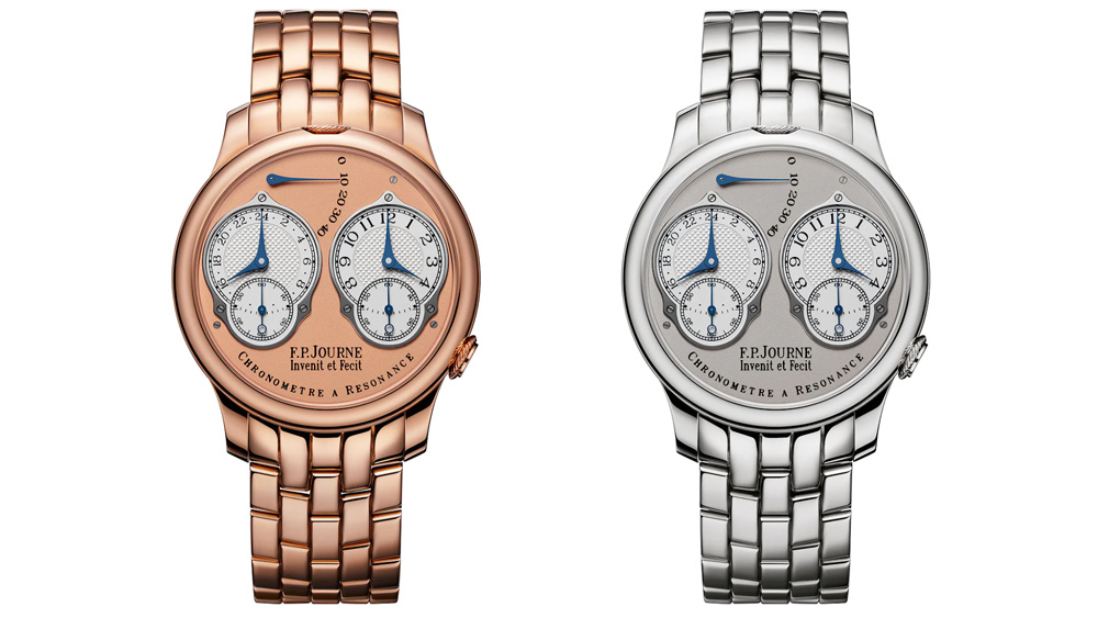 F.P. Journe Resonance Watches with 24-Hour Display