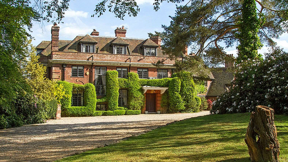 Roger Taylor's old English mansion